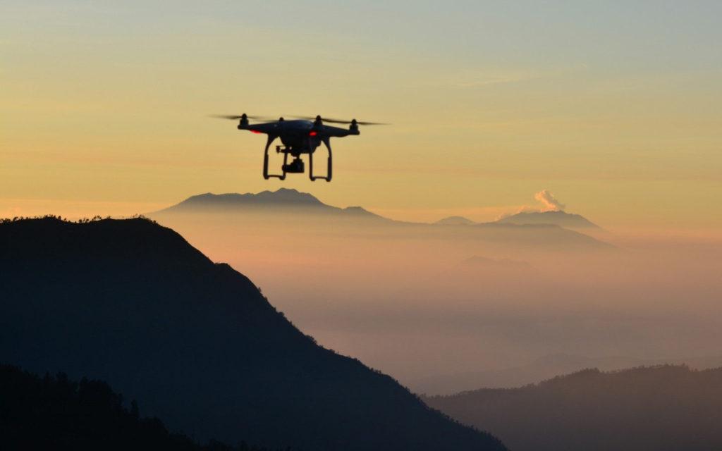 Prise de vue par drone à Grenoble